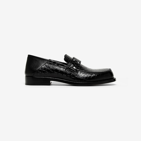 MAISON MARGIELA. Camden Croc-effect Loafers