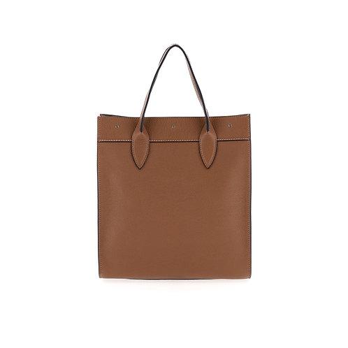 BORBONESE. Out Of Office Medium. Leather Handbag