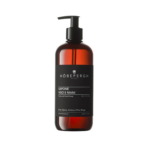 HÖBEPERGH. Face and hand soap.