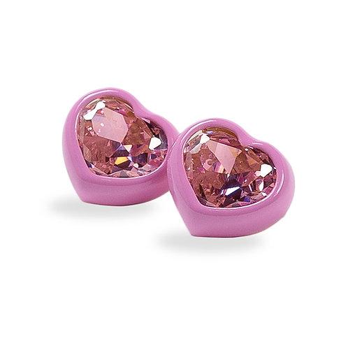 DANS LES RUES. Bonnie Pink and Pink Earrings