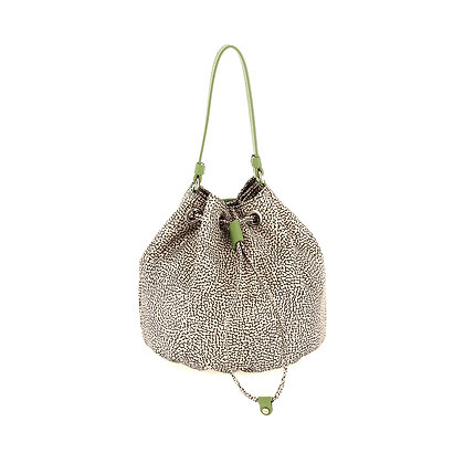 BORBONESE. Small Bucket Bag.