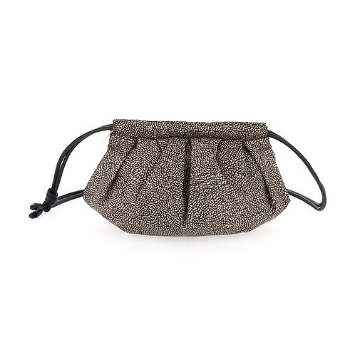 BORBONESE. Dunette Small. Sustainable Selection. Recycled Nylon Crossbody