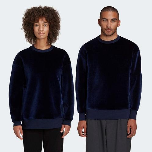 ADIDAS. Y-3 Square Velvet Spacer Crew Sweatshirt