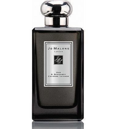 JO MALONE LONDON. Oud & Bergamot Cologne Intense. 100 ml.