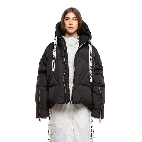 KHRISJOY. Black Khris Puffer Jacket