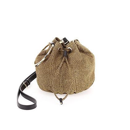 BORBONESE. Small Bucket Bag.