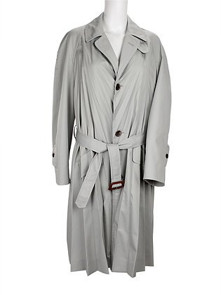 MAISON MARGIELA. Plissé Cotton Trench.