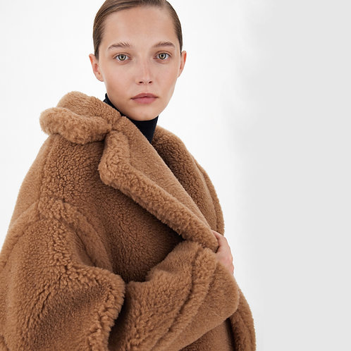 MAX MARA. Teddy Bear Icon Coat