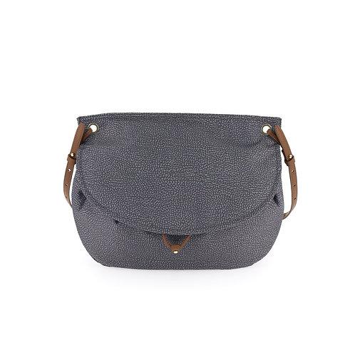 BORBONESE. Message Bag Medium. Shoulder Bag
