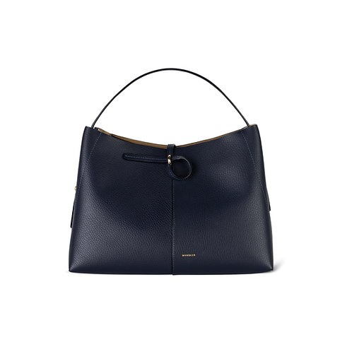 WANDLER. Ava Tote Medium Crust Night