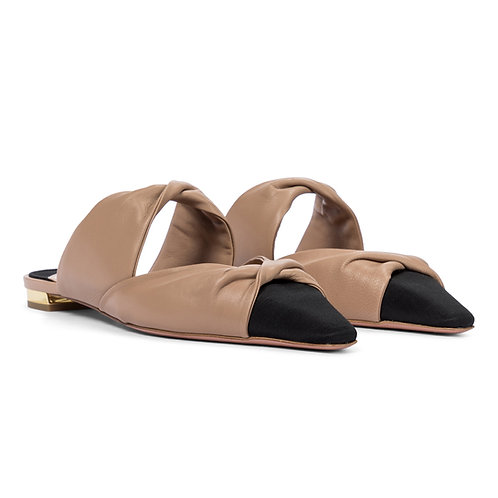 AQUAZZURA. Slippers Twist Flat