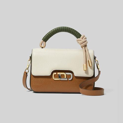 MARC JACOBS. The J Link Twist Shoulder Bag Colorblocked