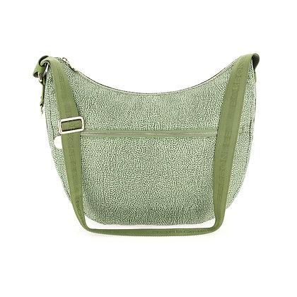 BORBONESE. Medium Luna Bag.