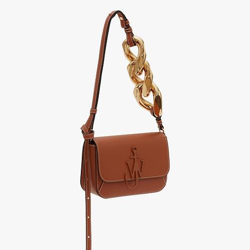 JW ANDERSON. Midi Chain Anchor Logo Crossbody Bag