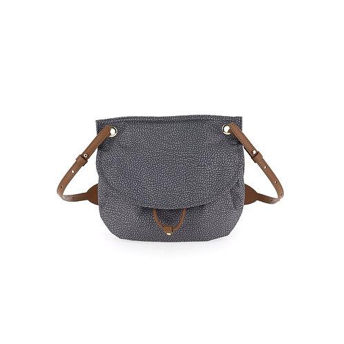 BORBONESE. Message Bag Small. Shoulder Bag