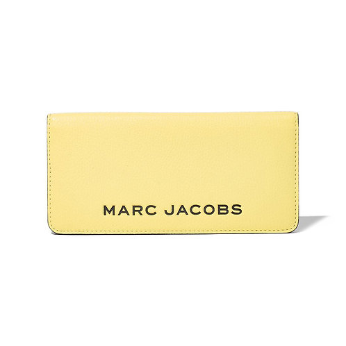 MARC JACOBS. The Colorblock Open Face Wallet Limelight