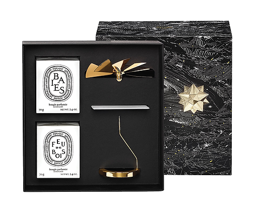 DIPTYQUE LIMITED EDITION. Carousel and Candle Duo.