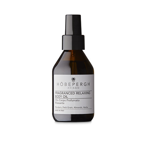 HÖBEPERGH. Fraganced Relaxed Body Oil