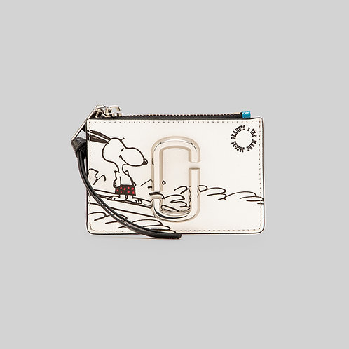 MARC JACOBS. Peanuts x The Snapshot Top Zip Multi Wallet Marc Jacobs