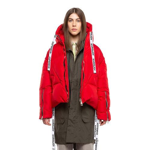 KHRISJOY. Red Khris Puffer Jacket
