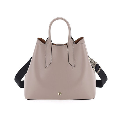 BORBONESE. Blow Handbag Medium.
