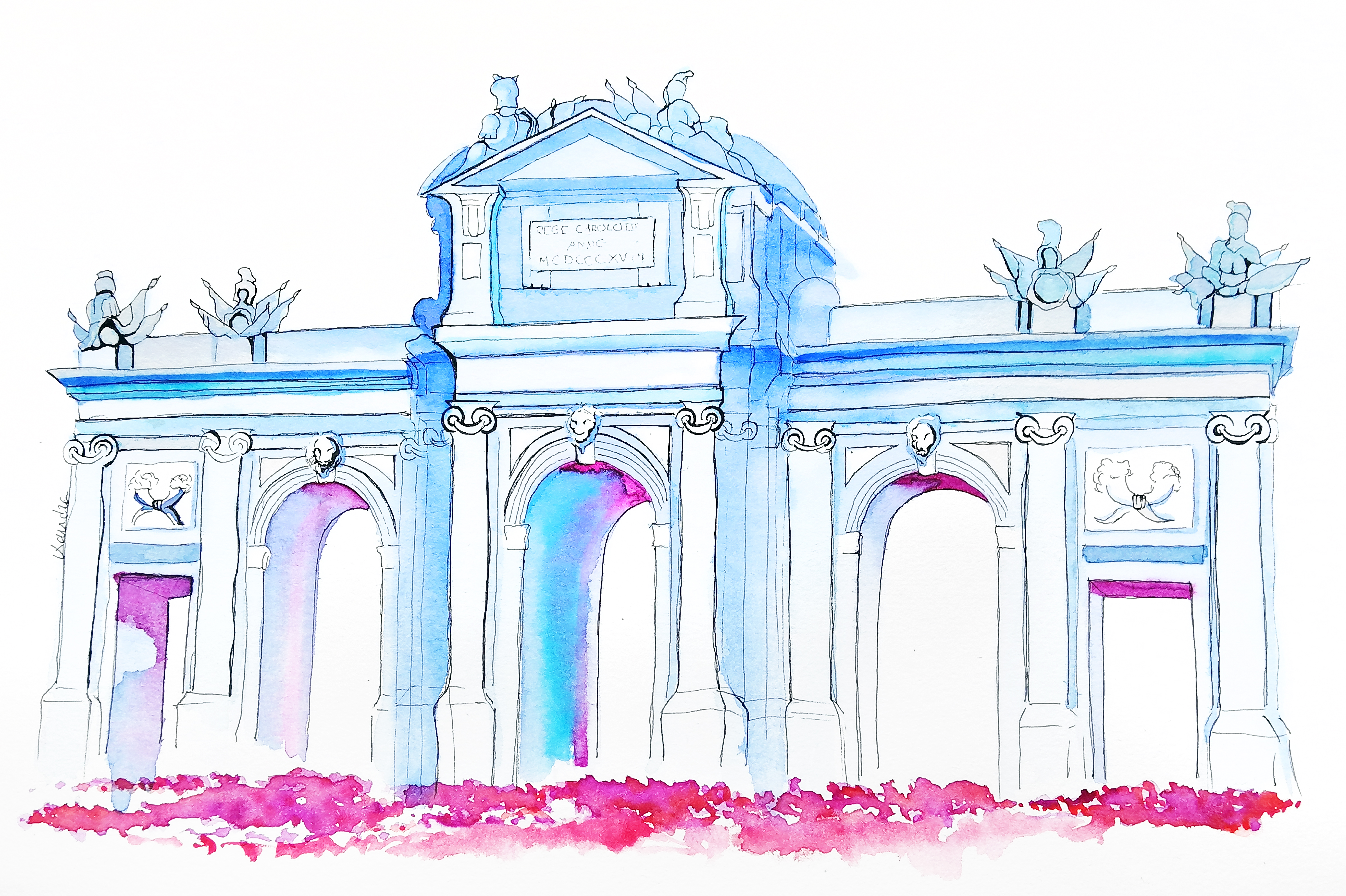 Boceto Puerta de Alcalá