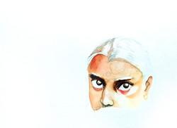 Proceso niña india aguada