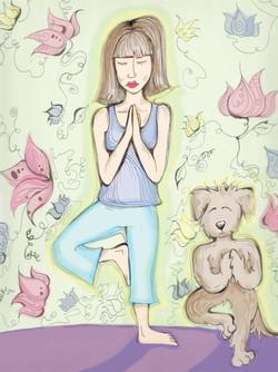 Yoga doodle