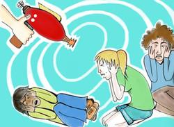 Mind-control ray illustration