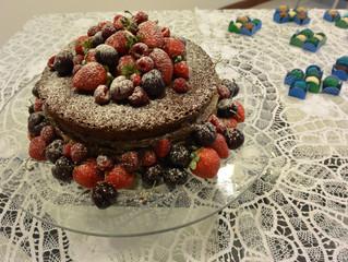 Eu fazendo bolos!