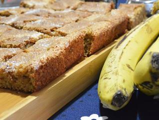Bolo de banana com farinha de rosca! #especialférias