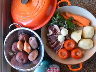 Cozido de costela com batatas