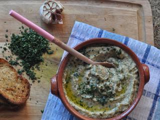 Pasta de berinjela (babaghanoush)!