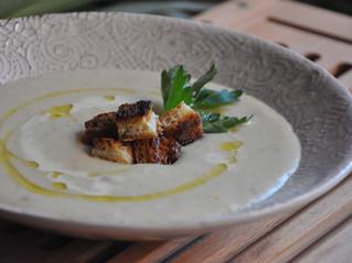 Sopa de batata e alho-poró (vichyssoise)!