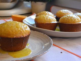 Muffins de laranja!