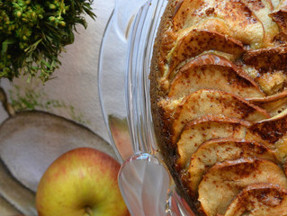 Torta de maçã!