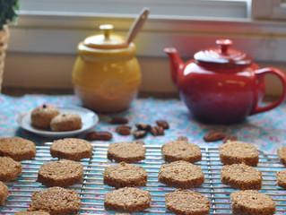 Cookies de aveia, nozes e mel!