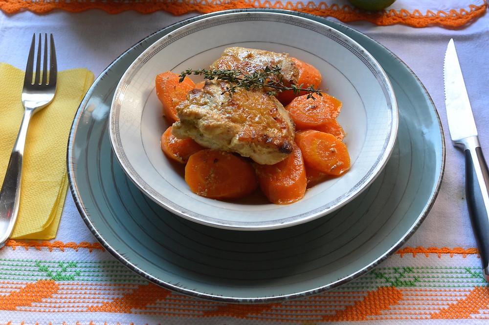 frango na mostarda com cenoura 4.JPG