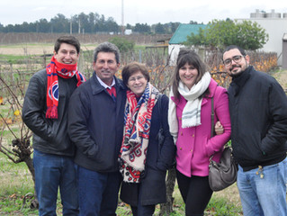 Família em Montevidéu!