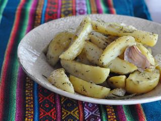 Batatas assadas!