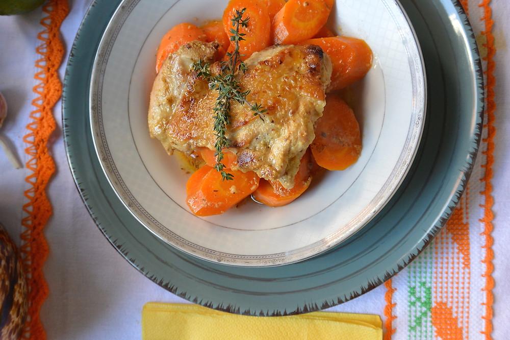 frango na mostarda com cenoura 5.JPG