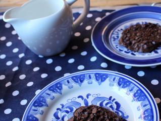 Cookies de chocolate sem farinha!
