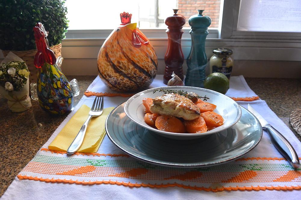 frango na mostarda com cenoura 3.JPG