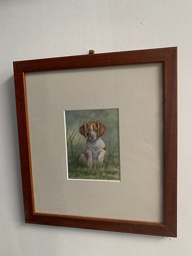 """Hardwired"" framed mini giclee"