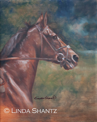 """Ready,""original oil painting"