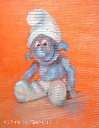 Smurf on Orange