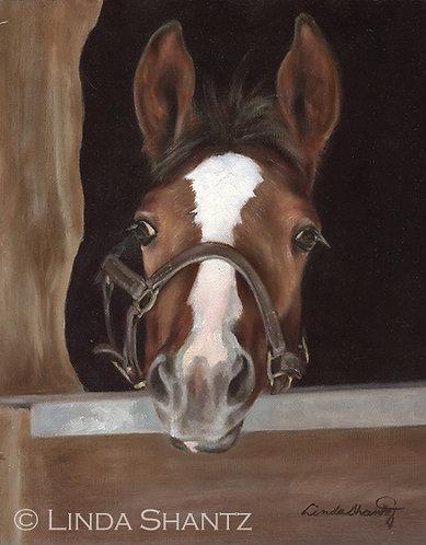 """Miss Me?"" original oil painting"