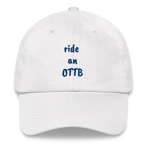TEAM VALIANT/Ride an OTTB - Dad hat