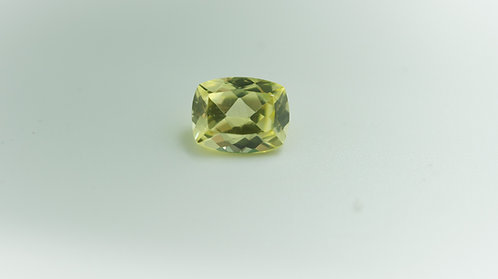 Created Yellow Sapphire,Antique Cushion9x7 mm. Weight 2.78 cts