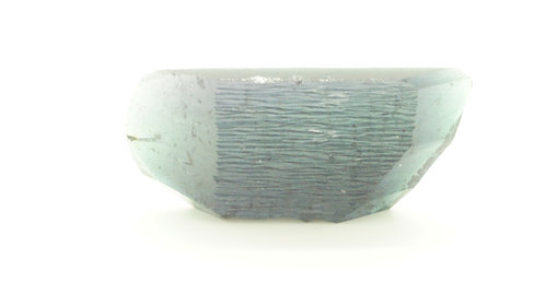 Hydrothermal Dark Teal color Beryl, Length 30 mm, Weight74.57 cts